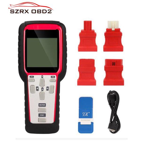 2018 super sbb2 key programmer sbb scanner tpms programador para immo + obometer + obd software + reinicio del servicio de aceite + tpms + eps + bms