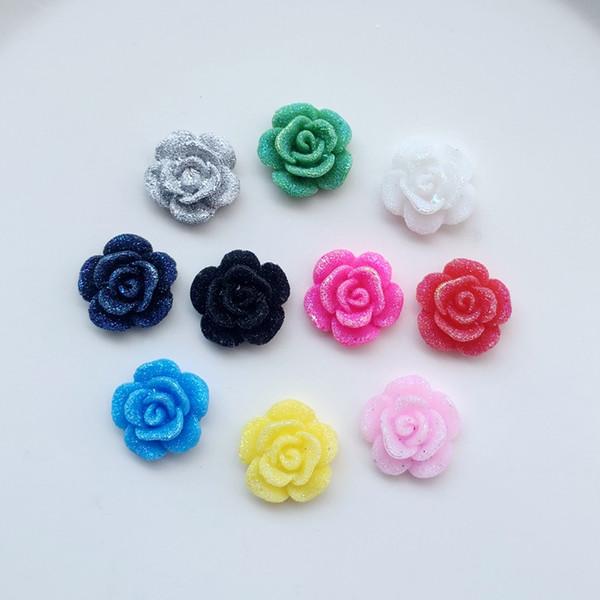 13mm resina fiori strass flatback cristalli pietre per abbigliamento artigianale accessori gioielli perline fai da te realizzati 240 pz-e31