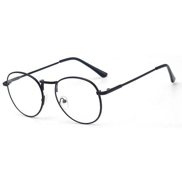 Spectacle frame round Glasses frame clear lens Women brand Eyewear optical frames myopia nerd black red eyeglasses