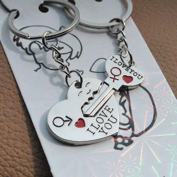 Anglais aimer secrètement votre clavier Cintre en forme de coeur visage amoureux de l'alphabet clavier cadeau créatif de la Saint-Valentin