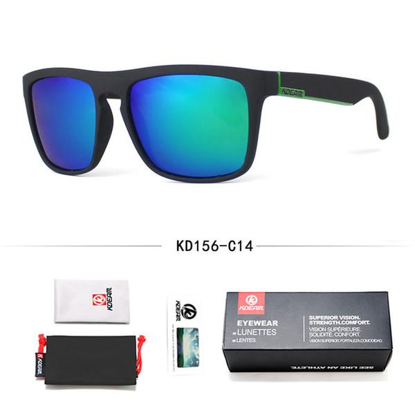 Diseñador de moda gafas de sol Gafas de sol de Guy de KDEAM Gafas de sol polarizadas Hombres Diseño clásico Todo en forma de gafas de sol con espejo Marca con caja CE