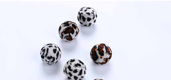 Soft 3.5 cm Ball Cat Toys of Interactive Chewing Game Leopard Scratch Pick up Exrecise Toy Balls Cat Pet Cat Supplies