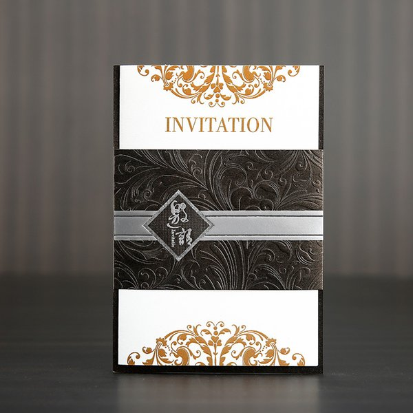 2019 Brown Business Meeting Invitation Creative Event Invitation Letter Opening Banquet Greeting Card From Newcute 34 72 Dhgate Com