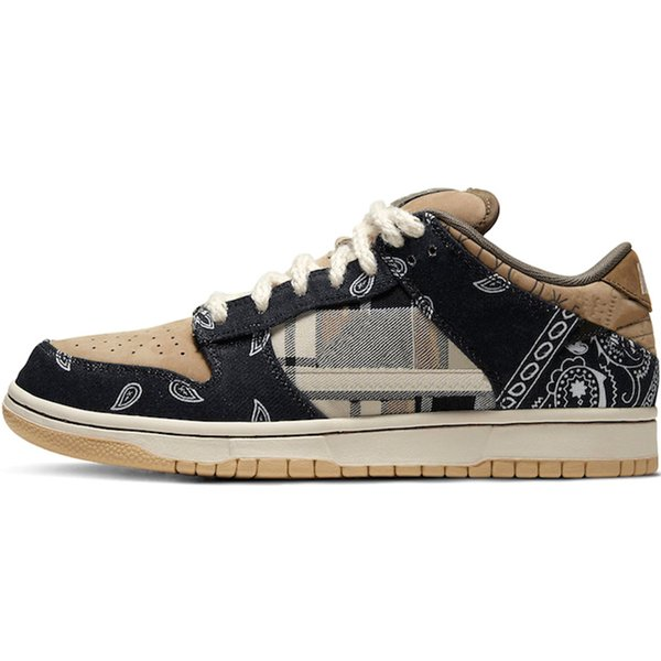 B1 36-45 Travis Scotts SB Dunk Low