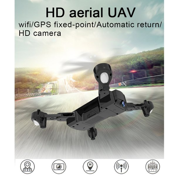 720p 1080p Hold Professional RC Drone Height Foldable HD Camera Helicopter Plane Quadcopter Dual GPS Outdoor Toys WIFI