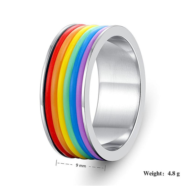 Rainbow Finger Silicone Tire Shape SS Skin Hoop Silicon Rubber Band Ring For Mech Protection Vape Mod Vape Vaporizer RDA Tanks Decorate
