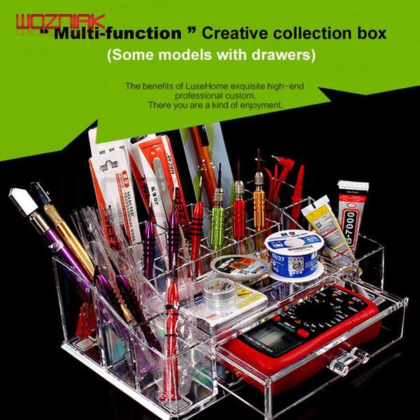 top popular Wozniak Latest High Quality Maintenance Tools Storage Box BoltDriver Iron Multifunction Part Box Screwdriver Drawer Storage Boxs 2020