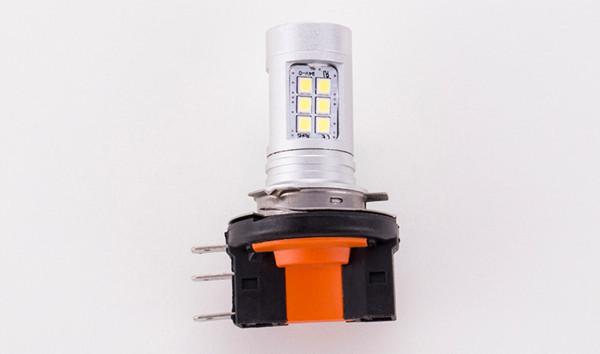 H15 Lâmpada LED 21SMD 2835 H15 LEVOU Farol Auto Lâmpada Para DRL Daytime Running Luz Nevoeiro Lâmpada de Substituição Lâmpada 6000 K 3000 K 9 V-30 V