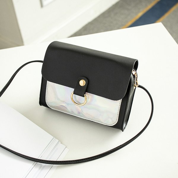 Fashion Lady Handbag Mini Flap Printing Multi Color Patchwork Satchel Women Shopping Coin Purse Shoulder Messenger Crossbody Bag