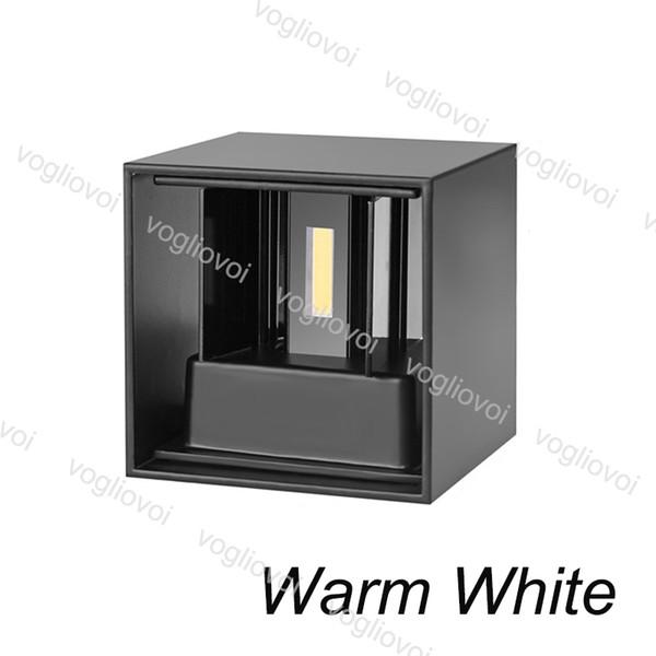 7W Branco Quente (Lampshape Preto)