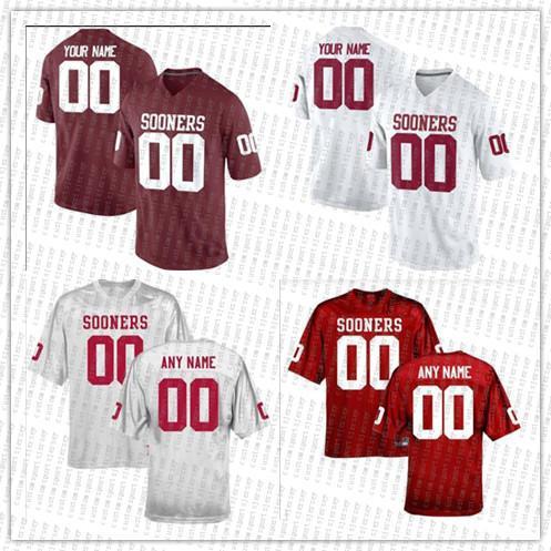 custom oklahoma sooners football jersey