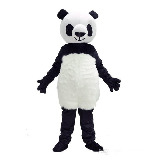 2020 Factory New style panda Mascot Costumes Christmas fancy dress halloween easter Performance Animal adults costumes for Adult