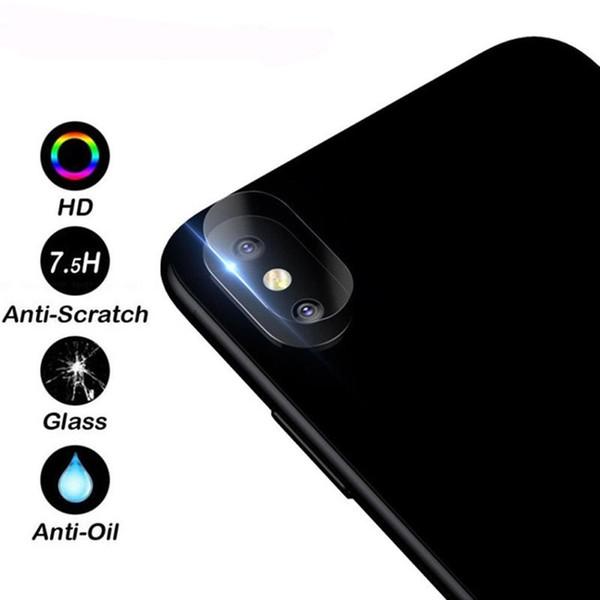 Pellicola protettiva piena di vetro temperata della protezione dello schermo della lente della fotocamera posteriore di modo per il iphone 7 6 6plus 7plus