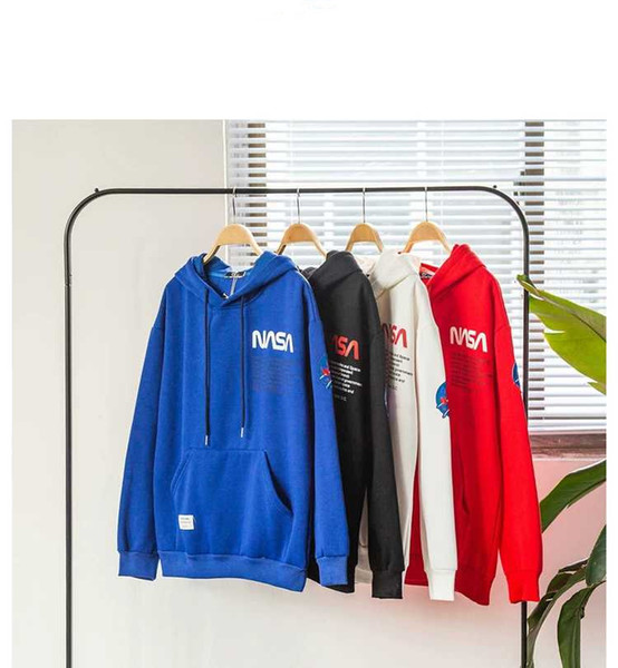 Marke Neueste Mode HERON PRESTON NASA Hoodie Hip Hop Street Sport Mens Designer Hoodies Loose Fit Reiher Preston Pullover Sweatshirt H679