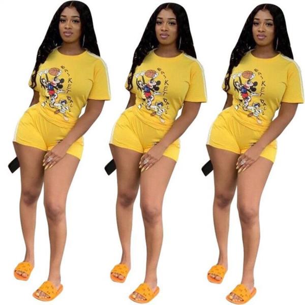 Bayan hoodie tozluk kıyafetler iki parçalı set eşofman gömlek pantolon spor seti kısa kollu spor gömlek şort kıyafetler klw1390