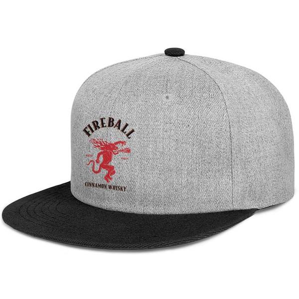 Женские мужские плоские регулируемые огненный шар Виски с логотипом Tagline Хип-хоп Хлопковая охотничья шапка Летние дорожные шапки Шляпа с плоским верхом Воздушные сетчатые шапки Fo