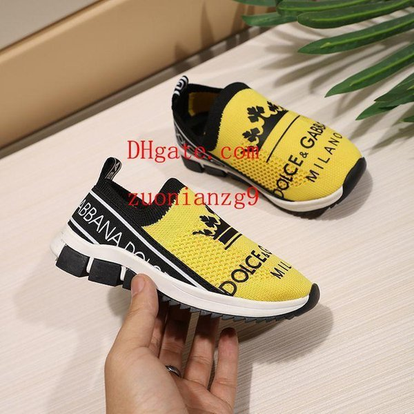 Kids Shoes Skateboard Shoes 2019 Brand high quality breathable Sports running Shoes Sneakers Outdoor Flat-soled Sneakers