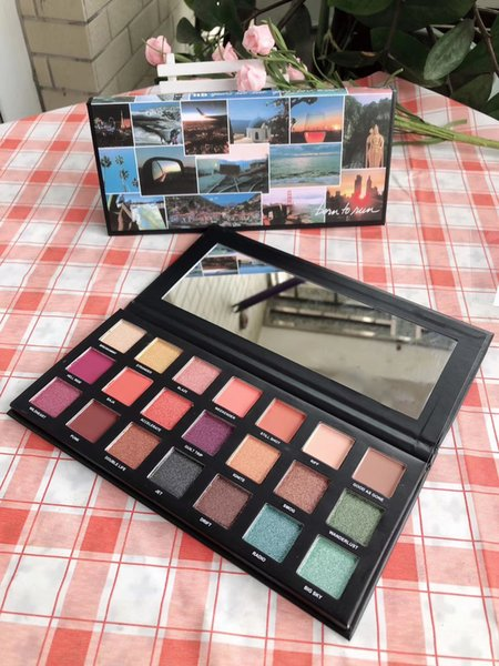 Hot Makeup Eyeshadow Palette Eye Shadow Palettes Matte Pigment Pressed Powder Maquillage Eye Shadow Epacket Gift Wholesale Makeup Best Eyeshadow