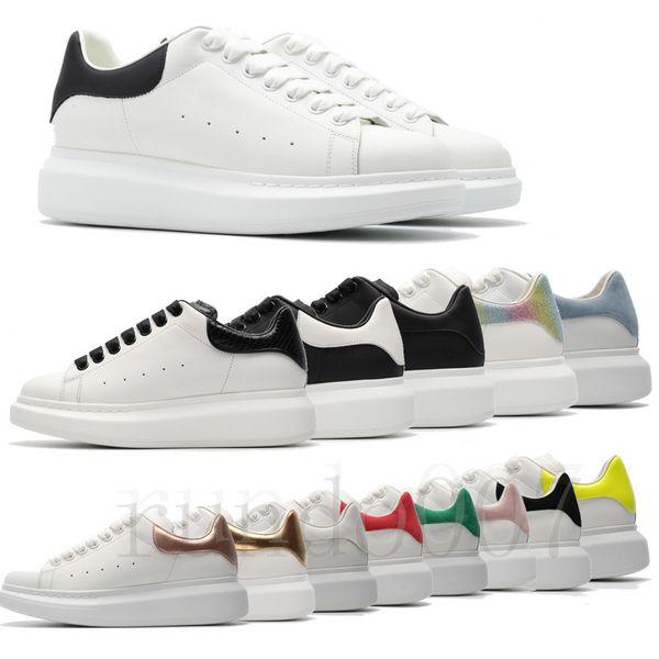 Mode 2019 plate-forme mcqueens SneakersAlexanderMcQueen chaussures hommes femmes Chaussures baskets scarpe da ginnastica di