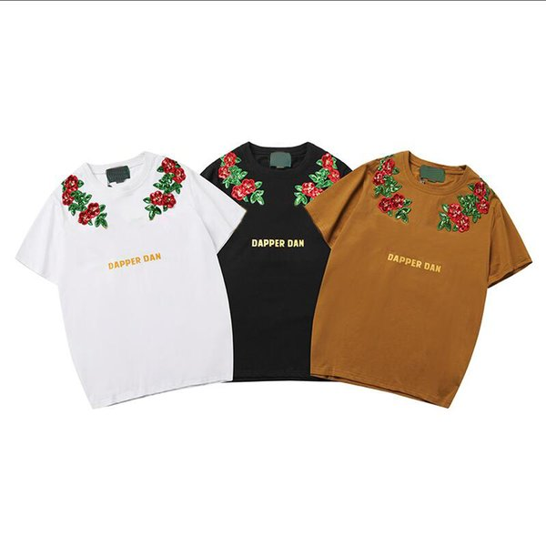 Fashion T Shirt pour hommes T-shirt respirant avec des lettres d'été à manches courtes pour hommes Tee Shirt Tops Clothing 3 Couleur S-2XL gros