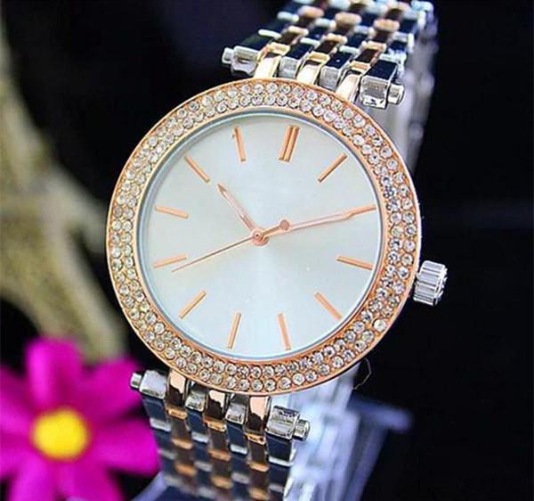 reloj de pulsera повседневная розовое золото женские часы Лучший бренд женские дизайнерские часы Бриллиантовый браслет Часы из нержавеющей стали подарок для женщин