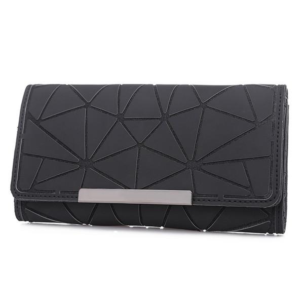 Personality Generous Wild Casual Wallet Fashion Trend Rhombic Multifunctional Simple Card Bag Ladies Colorful Wallet jooyoo