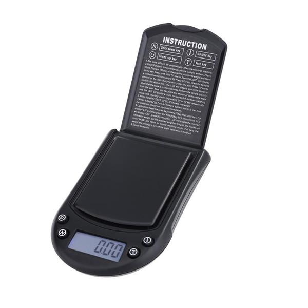 200gx0.01g 500g / 0.1g 미니 디지털 스케일 전자 포켓 저울 높은 정밀도 다이아몬드 보석 스케일 LCD 디스플레이 자동 무게 저울