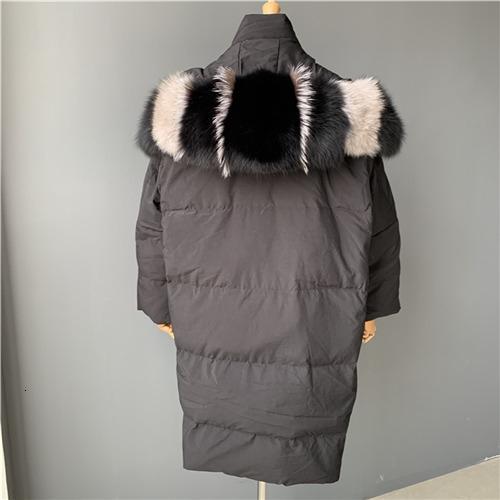 Black fox fur match