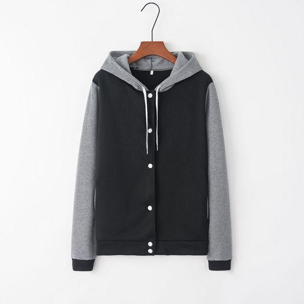JAYCOSIN baseball jacket Women Printing Long Sleeve Casual Blouse Sweatshirt Loose Coat 2019 Autumn Winter New Cool Girl Outwear