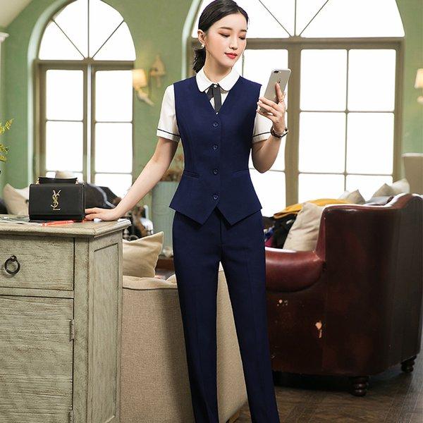 Navy Blue Suit Pant
