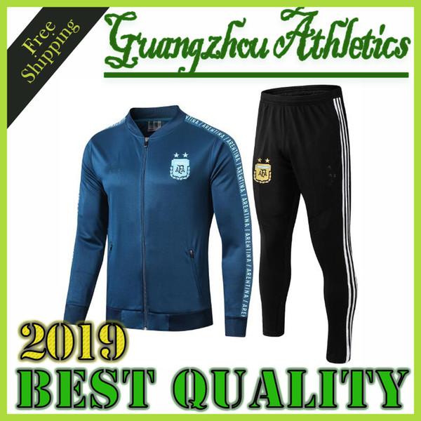 Top tuta da calcio Argentina 2019 19 20 Colombia chandal 2020 Mexico Soccer Jersey Tute da allenamento abbigliamento sportivo