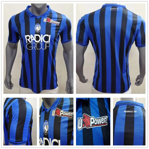 Player Version Atalanta B.C. Soccer Jersey L.MURIEL ILICIC GOMEZ FEULE DUVAN DE ROOM PASALIC Custom 19 20 Atalanta BC Football Shirt