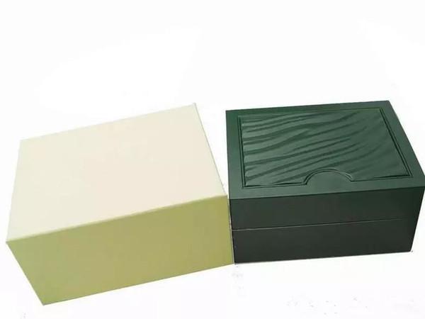 Al por mayor - Nuevos hombres de lujo para RX Watch Box Original Inner Outer Woman039; s Watches Boxes Men Wristwatch box Papers Card Wallet BoxesCase