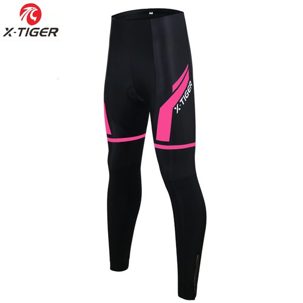 X-Tiger Donne tenere in caldo termico MTB Bike Cycling pantaloni con pantaloni 3D Gel imbottito Winter Road bicicletta Ciclismo Pantaloni