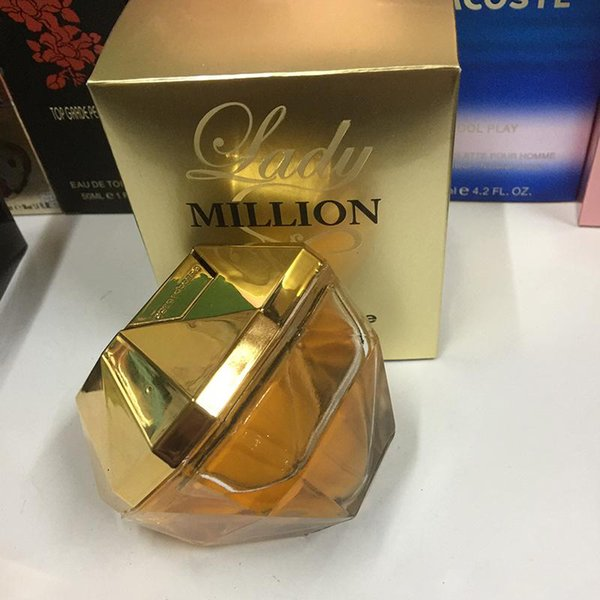 80ml million perfume for lady long la ting time good mell good quality high fragrance capactity j100