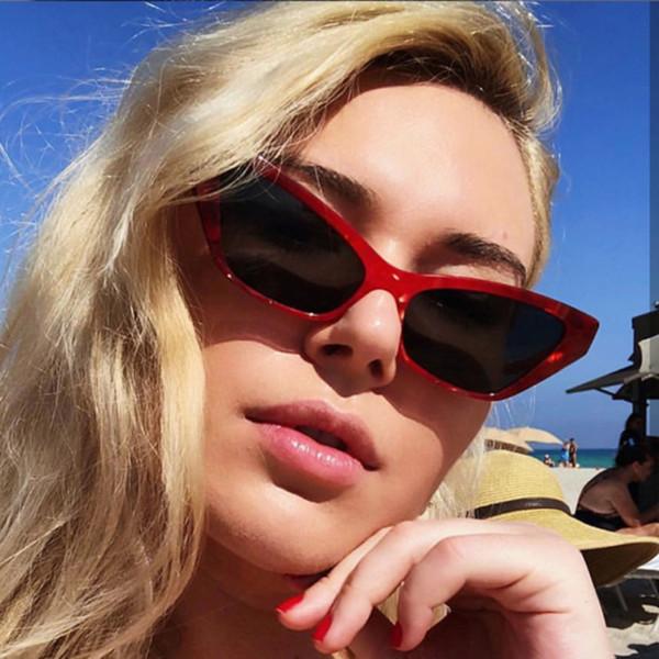 2019 Cat Brand Design Luxury Women Sunglasses 2019 Pink Vintage Sun Glasses Oversized Sun Shades for Women Lentes De Sol Mujer