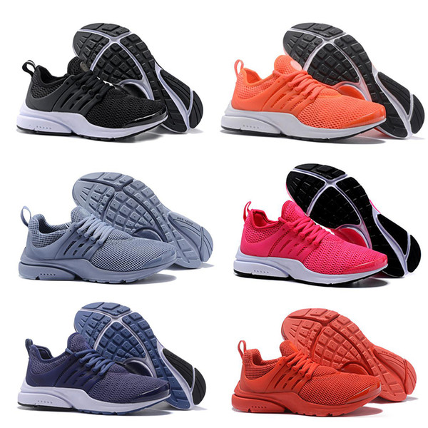 nike air presto 2018 TOP PRESTO 5 BR QS Breathe Noir Blanc Jaune Rouge Hommes Chaussures Baskets Femmes Chaussures De Course Chaud Hommes Chaussures De Sport Chaussures de marche