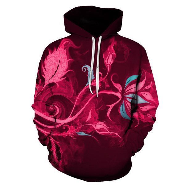 2019 New Psychedelic Star Hoodie Colorful Painting Scenery 3d Hoodies Women/men Casual Hooded Sweatshirt Outerwear Size S-6xl
