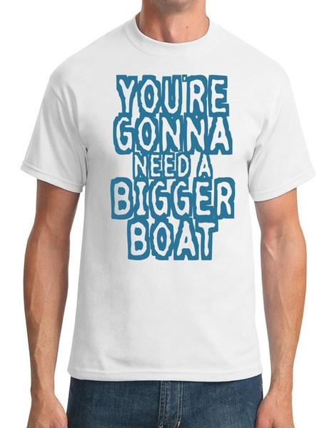 Du brauchst ein größeres Boot. Jaws Movie Inspired Herren T-Shirt cattt Windjacke Mops T-Shirt