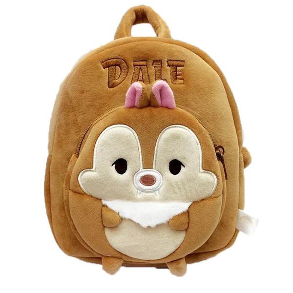 New Cartoon Baby Shark School Bag for Children Kids Cute Plush School Backpack Blue Rose Yellow Color Boys Schoolbag