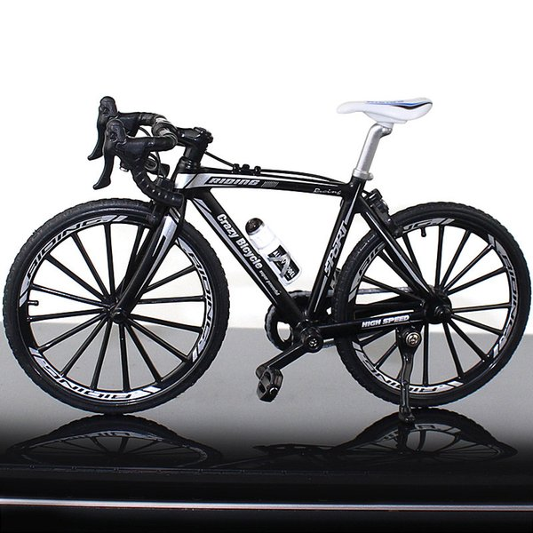 Bent Handle Bicycle Black