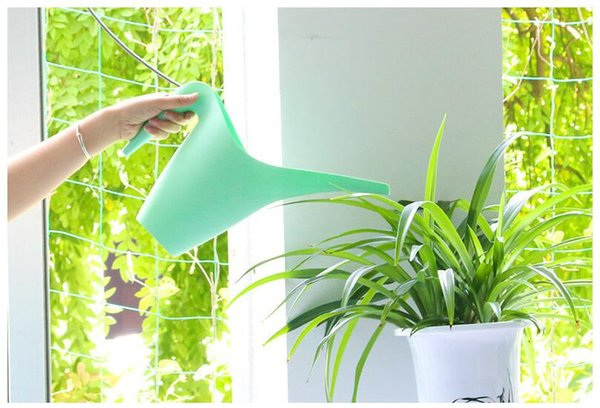 Home Garden Long Mouth Watering Pot 1L & 1.8L Watering Plastic Kettle For Household Patio Lawn Gardening Tools