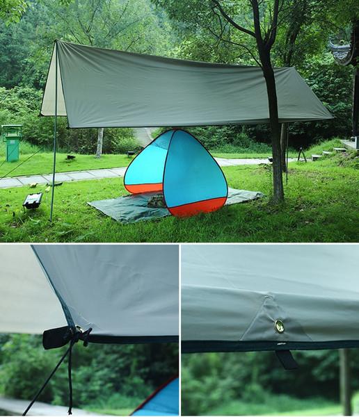 Wasserdichte Isomatte 3 * 4 Mt Matratze Außenzelt Tuch Multifunktions Markise Planen Baldachin Picknick Matte Bodenmatten wcw594