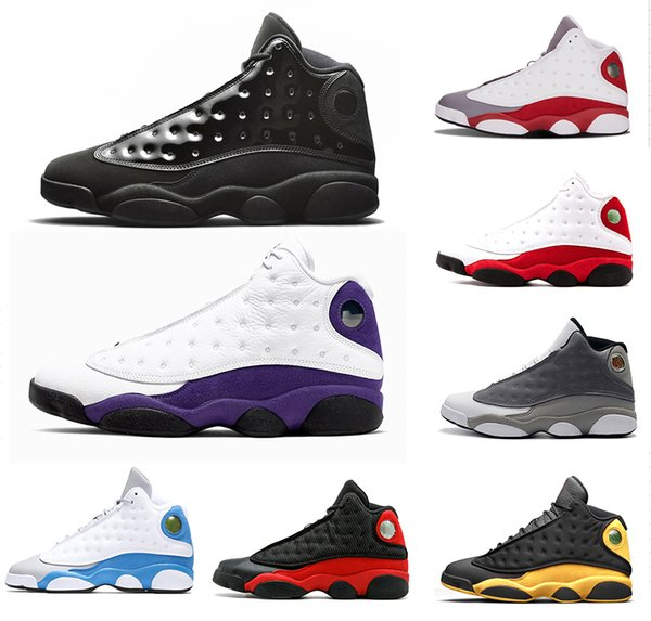 design intemporel d28dc f9433 2019 La AirJordanRetro13 13s Men He Got Game Basketball Shoes 13 Black Cat  Melo Class Of 2003 Grey Toe Bred Sports Sneakers From Mens_luxury_shoes, ...