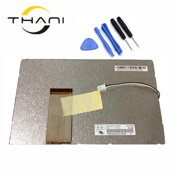 Thani 7 inch 60pin LCD screen 7214H10C44-A0 7214H10A44-A0 LCD display screen panel Repair replacement free shipping+tools