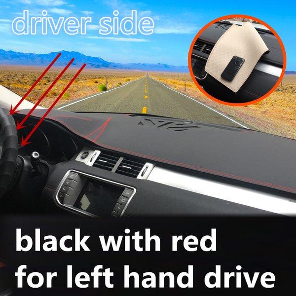 sol için siyah kırmızı