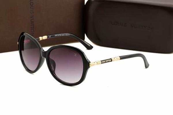 con estuche Moda Millonario Gafas de sol para hombre Diseñador de la marca Z0105W EVIDENCIA Gafas de sol para mujer Protección UV Gafas de sol vintage3017