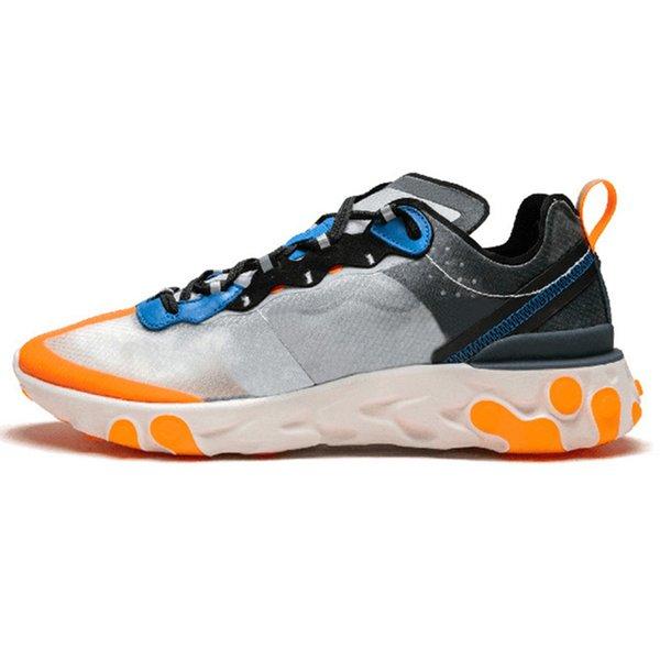 A23 87 Thunder Blue Total Orange 36-45