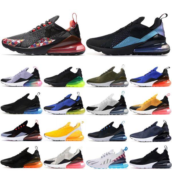 2019 nike air max 270 CNY Chaussures Mâle Throwback Future Dusty Cactus Chaussures De Course Tigre Noir Orange Éclaboussures D'encre Hommes Femmes Baskets Taille 36-45