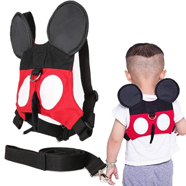 Toddler Backpack Leash for Kids & Child Safety Anti-lost Wrist Leash | Baby Walking Safety Leash - Micky Design